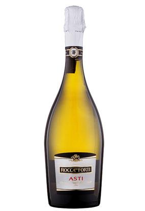 意大利DOCG高级香槟起泡 卡德芙阿斯蒂甜白起泡酒正面
